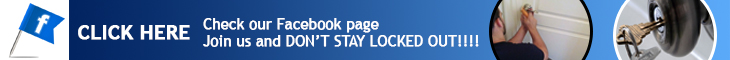Join us on Facebook - Locksmith Corona